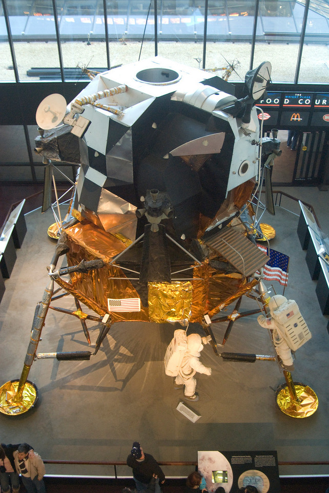 The Lunar Excursion Module or LEM.