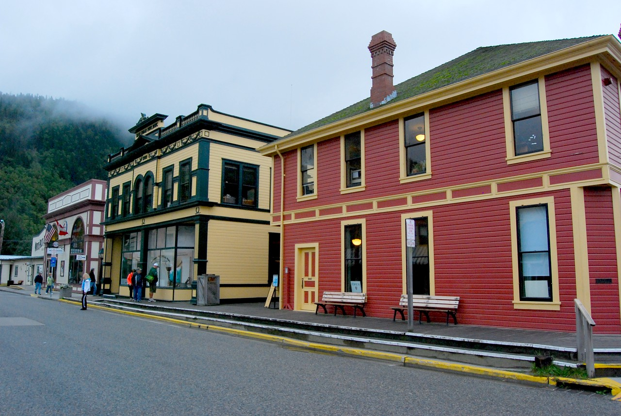 Downtown Skagway.