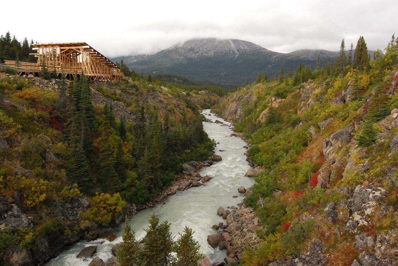 Yukon River near its headwaters