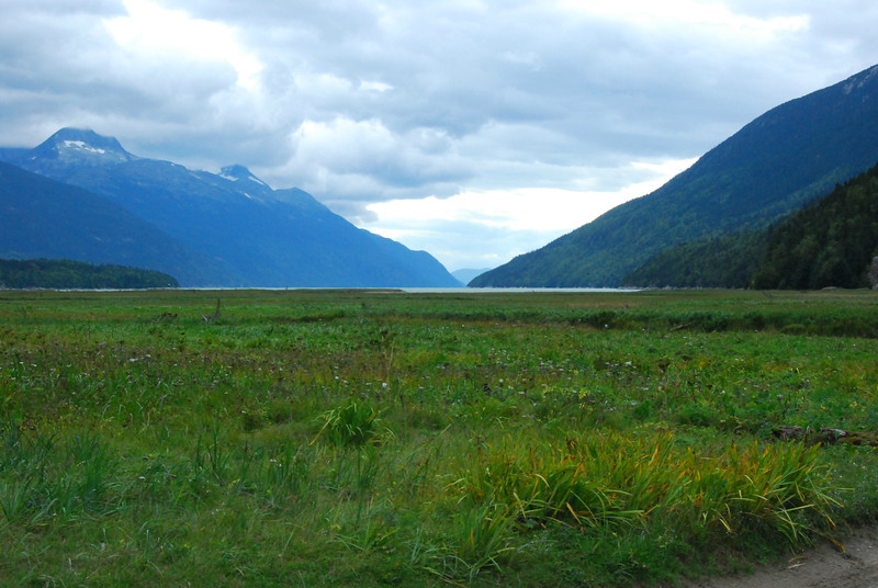 Taiya Inlet near Dyea