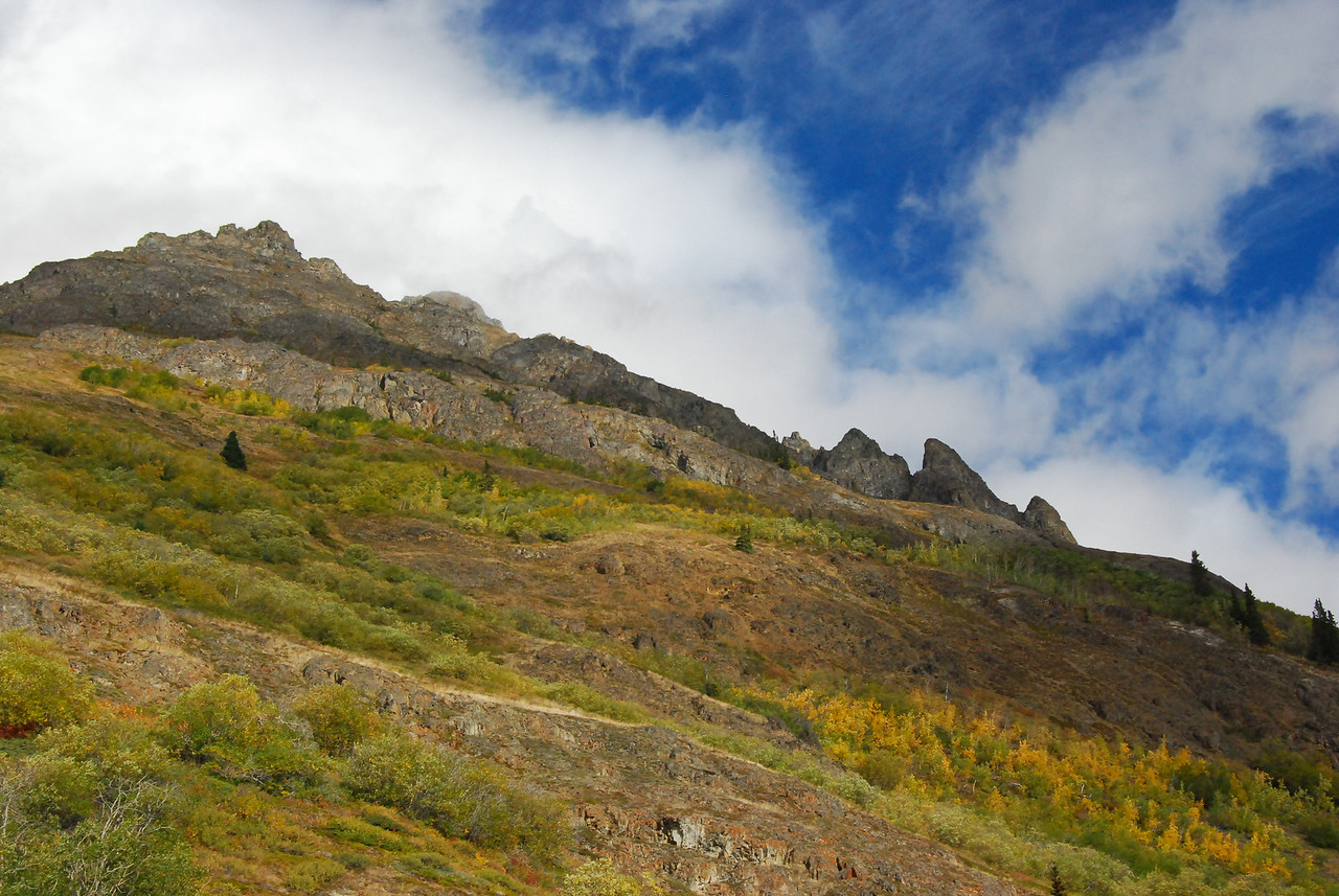 Fall was rapidly approaching as we left the Yukon and headed home.