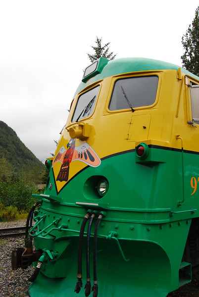 One of the engines for the White Pass RR