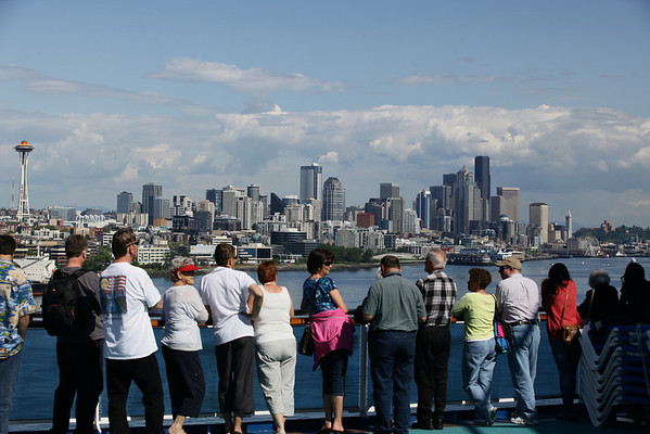 Alaska Cruise: Seattle to Juneau