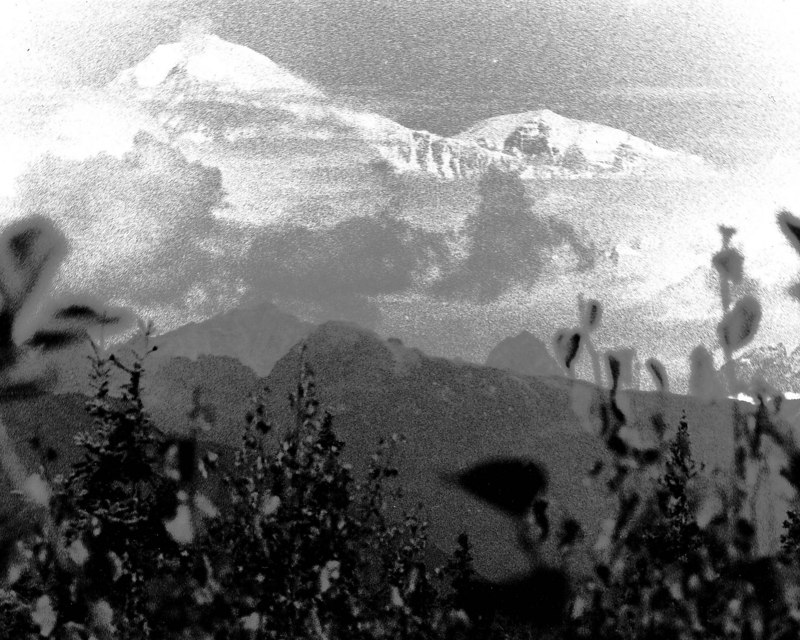 """Denali a.k.a """"The Great One""""<br /> also known as Mt. McKinley<br /> Denali National Park and Preserve, Alaska, USA<br /> 20,320 feet (6,194 m)<br /> <br /> Film photograph"""