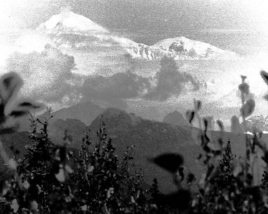 "Denali a.k.a ""The Great One"" also known as Mt. McKinley Denali National Park and Preserve, Alaska, USA 20,320 feet (6,194 m)  Film photograph"