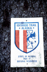 Iditarod Trail Alaska  Slide film