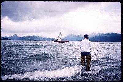 """Fisherman"" Homer Spit, Alaska"