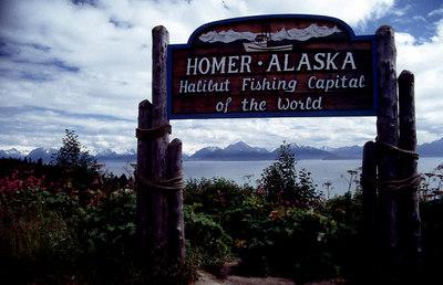 Homer Alaska Halibut fishing capital of the world