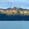 A view across Resurrection Bay from Seward