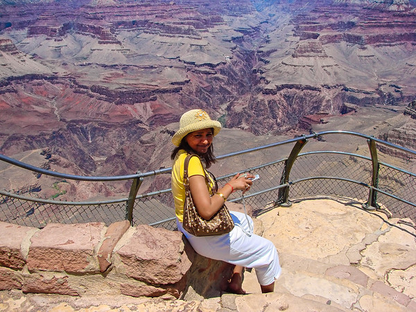 The Grand Canyon Mather Point