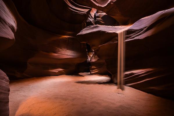 Upper Antelope Canyon, Navajo Nation, Page, Arizona (2016)