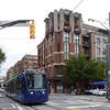 Atlanta Streetcar in front of CityWalk