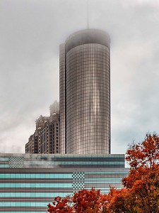 The Westin....in the fog