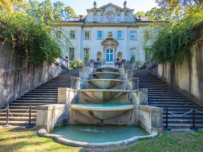 The Swan House....home of the Inman Family...on 33 acres in Buckhead area of Atlanta