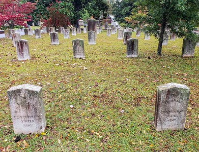 Oakland Cemetery....home of many Civil War Veterans