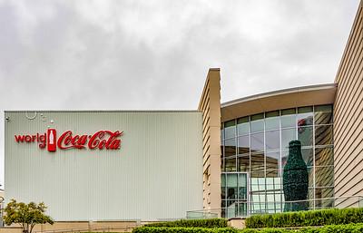 The World of Coca Cola...Coke was invented in Atlanta