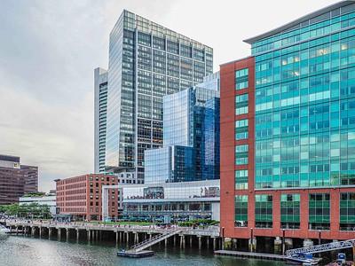 Harbor view: modern Boston