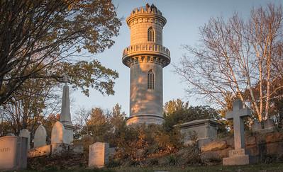Tower in Mount Auburn