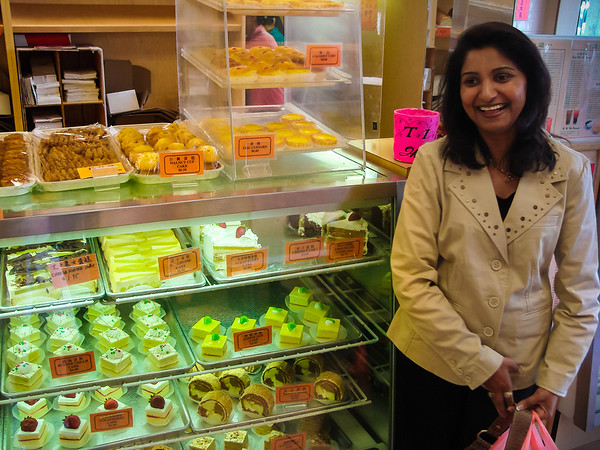 Desserts at Washington Bakery & Restaurant