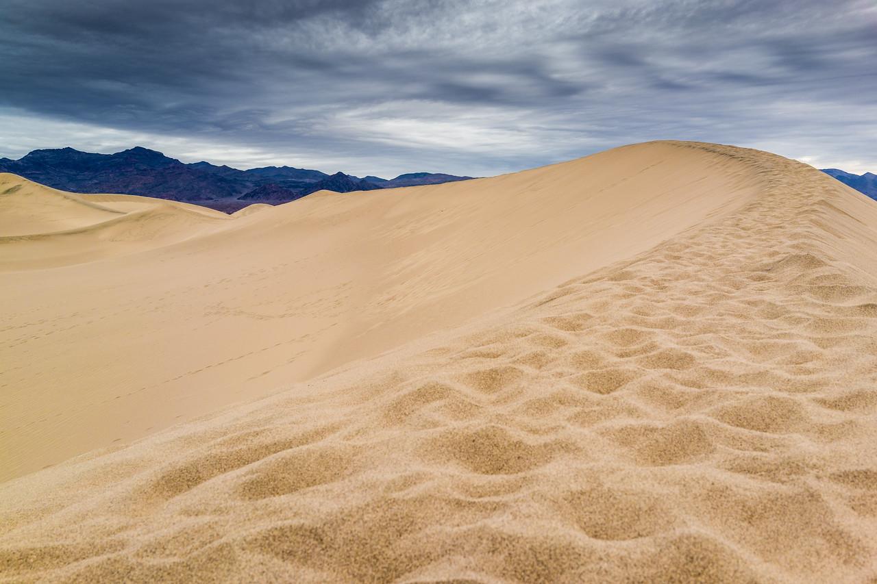 Mesquite Flat Dunes, Death Valley, California, United States