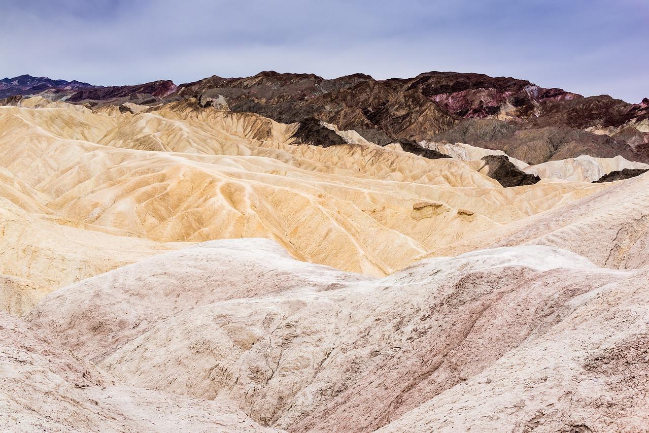 Zabriskie Point, Death Valley, California, United States