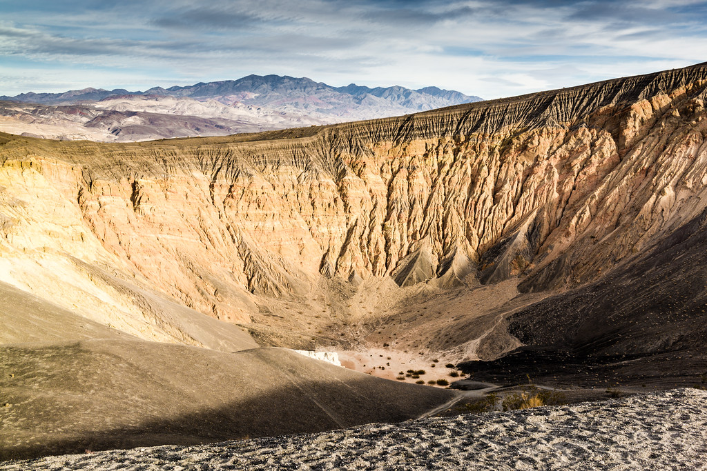 Ubehebe Crater, Death Valley, California, United States