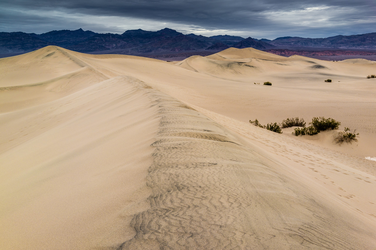 Mesquite Flat Dunes, Death Valley, California, United States