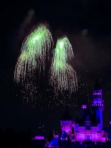 Disneyland 50th Anniversary Fireworks