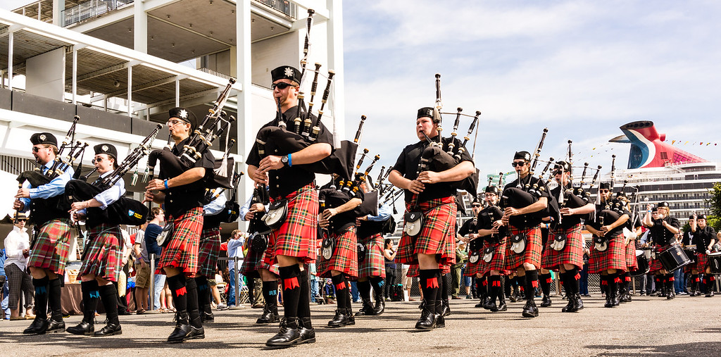ScotsFestival, International Highland Games, Queen Mary, Long Beach, Los Angeles County, California, United States