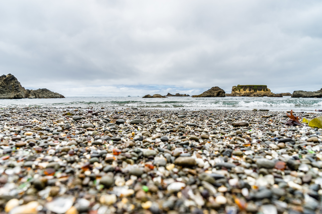 Glass Beach, Fort Bragg, Mendocino County, California, United States