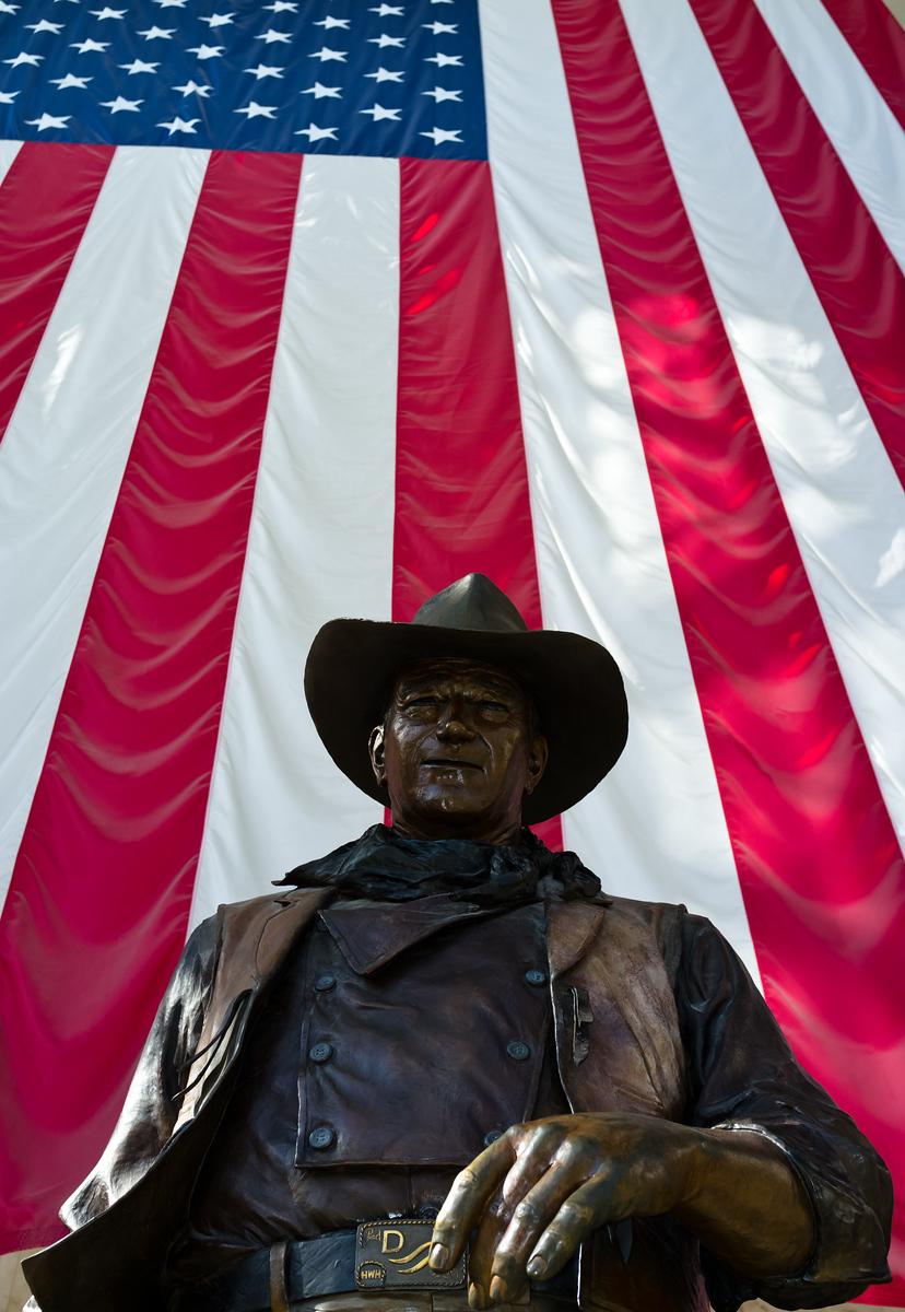 John Wayne, John Wayne Airport, Orange County, California, United States