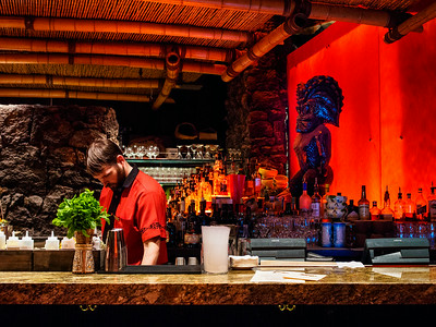 The Tonga Room & Hurricane Bar