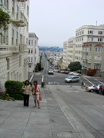 Polk St and Lombard St