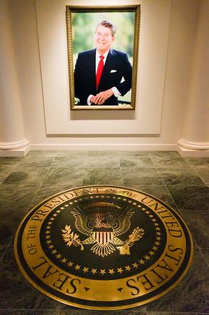 Ronald Reagan, Ronald Reagan Presidential Library, Simi Valley, California