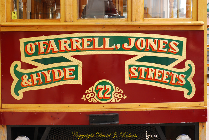 O'Farrell Jones Trolley, San Fransisco, California