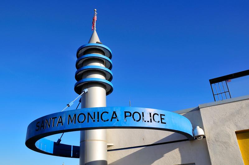Santa Monica Police Station, Santa Monica Pier