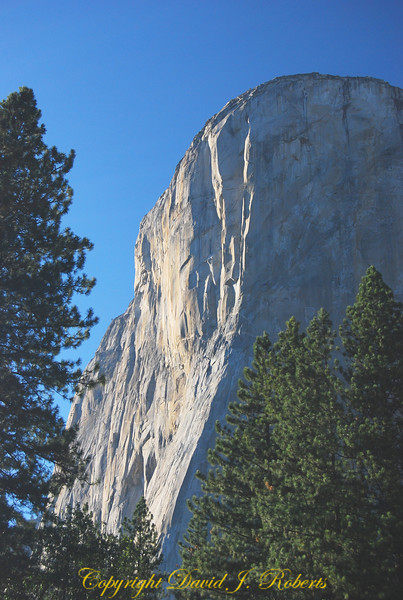 El Capitan, evening light, Yosemite National Park, California