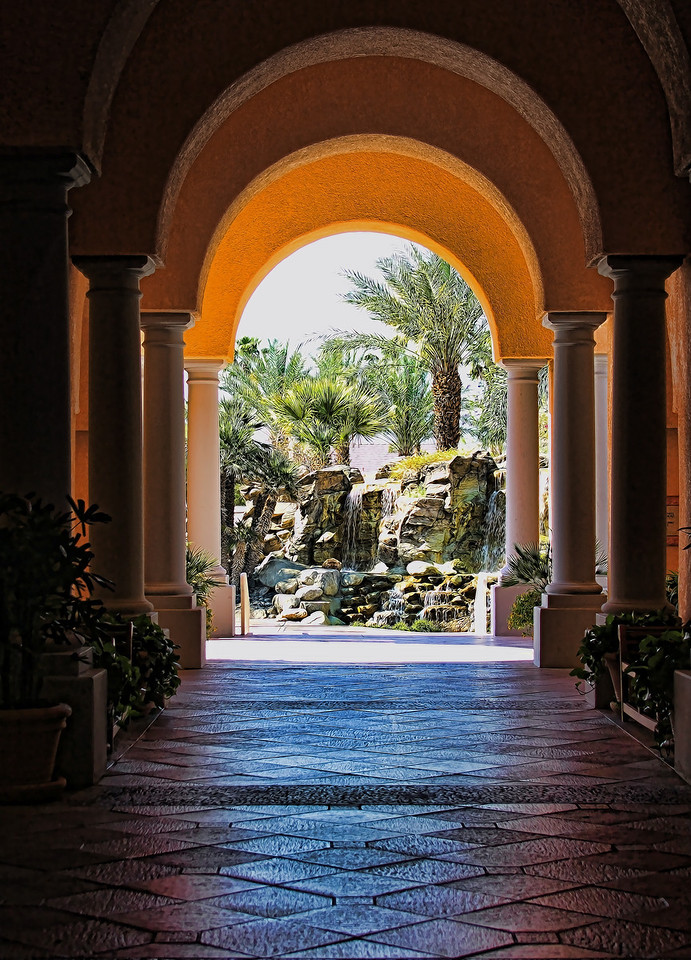 Archway in Palm Springs, CA