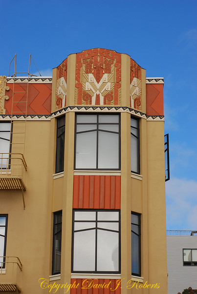 Interesting building decorations, San Fransisco, California