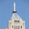 Statue of Ceres, goddess of grain on top of Chicago Board of Trade.
