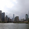 Panorama from mouth of Chicago River