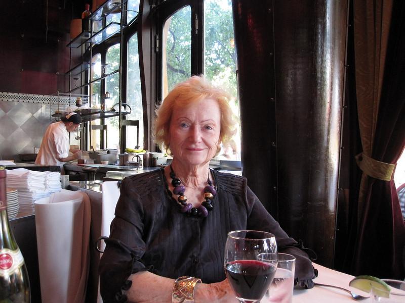 Barbara at Thai restaurant Red Light