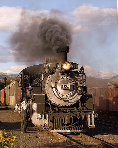 Cumbres and Toltec Scenic Railroad Yard