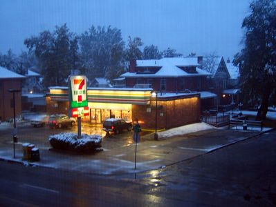 """Monday Morning Snowstorm"""