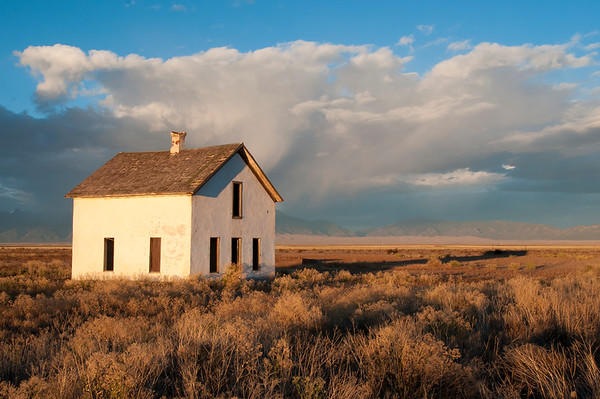 Lone House on the Prairie
