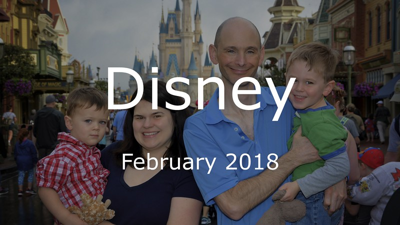 Disney Vacation 2018