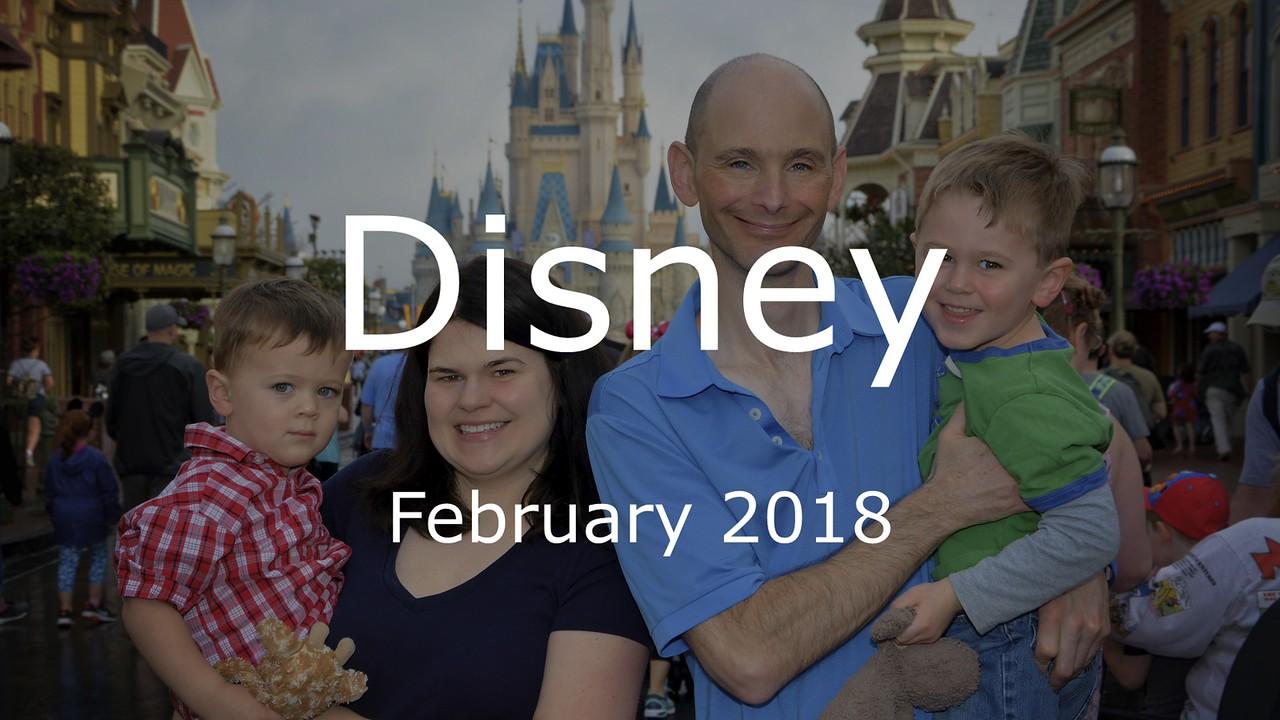 Disney Vacation 2018