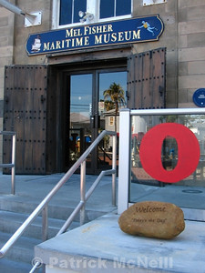 Shipwreck museum for the finding and excavating of the Nuestra Senora de Atocha
