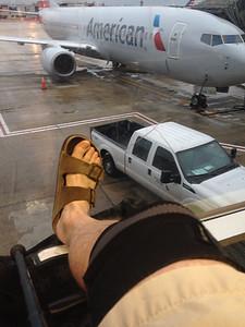 Waiting to board at PHL