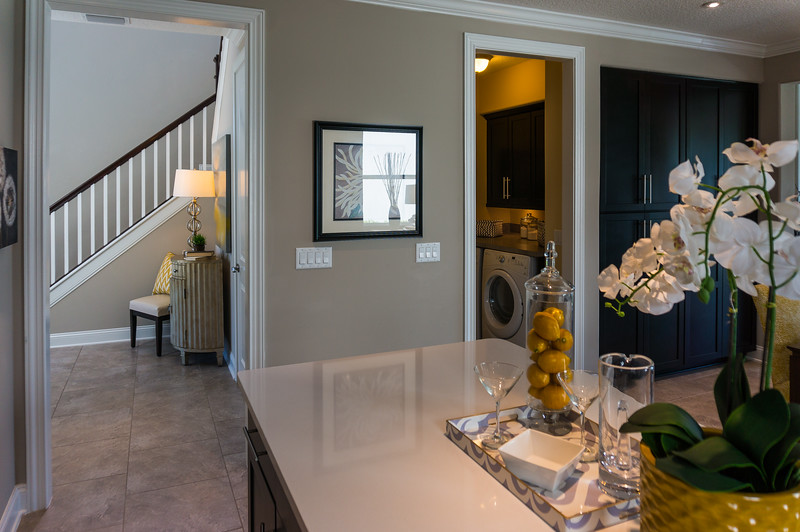 Seaside Foyer and Laundry Room